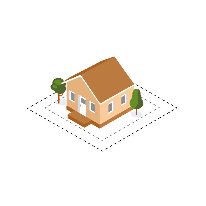 Grundstücksfläche