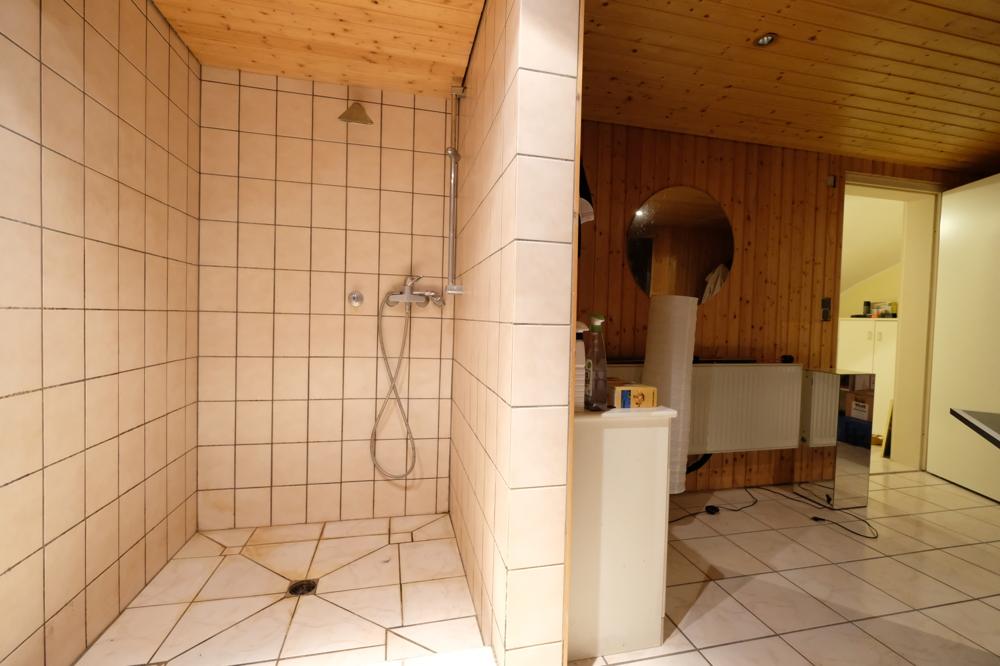 Dusche Sauna